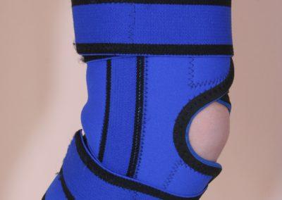 Ortéza kolenná elastická s flexibilnou výstužou neoprén