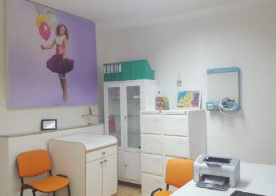 Detská ortopedická ambulancia na Kramároch, Stromová 31 - interiér