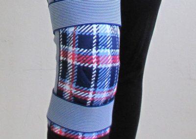 Ortéza kolenná elastická s flexibilnou výstužou naťahovacia