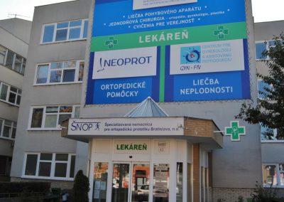 Ortopedická ambulancia Pensen pre dorast a dospelých, Záhradnícka 42, Bratislava - Ružinov