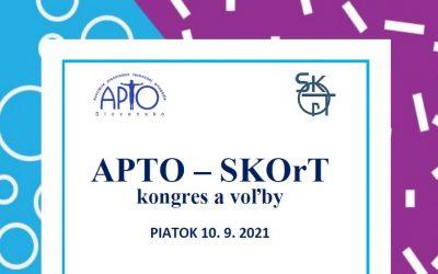 APTO & SKOrT – kongres a voľby